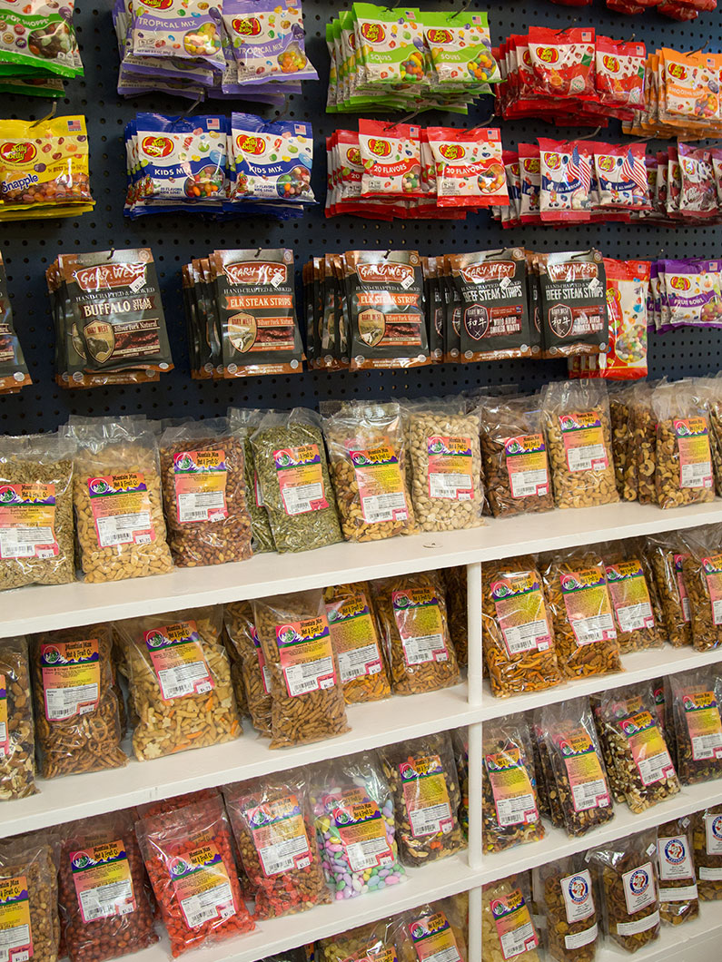 Shop for all kinds of snack food at Texas Family Popcorn